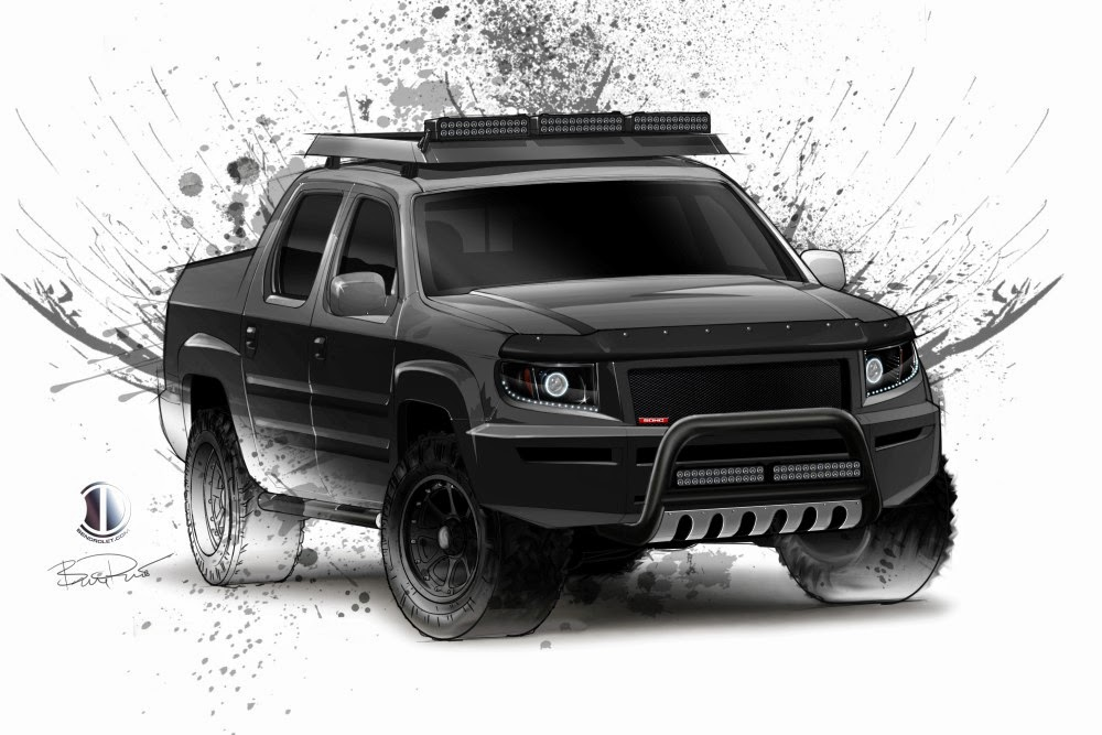 Honda Ridgeline Off Road >> Formerly The Honda Portal Ben Drolet Sketches Out A Honda