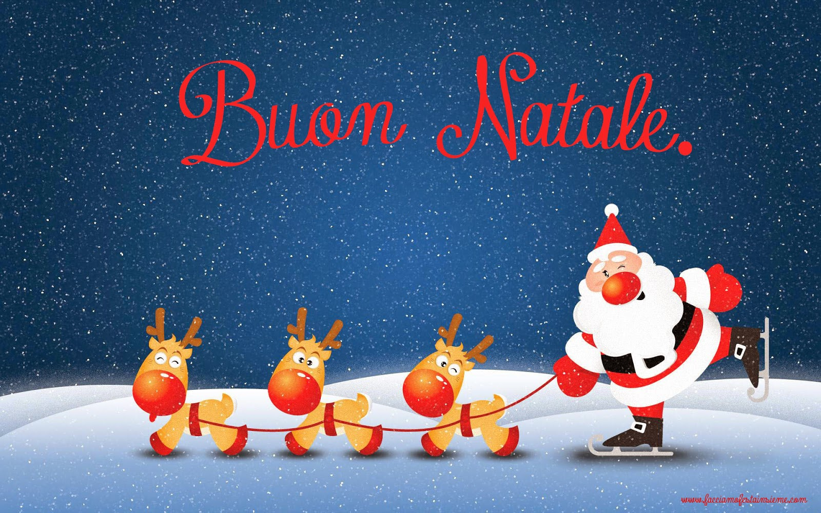 Regali Di Natale Frozen.3 2 1 Auguri Di Buon Natale Facciamo Festa Insieme