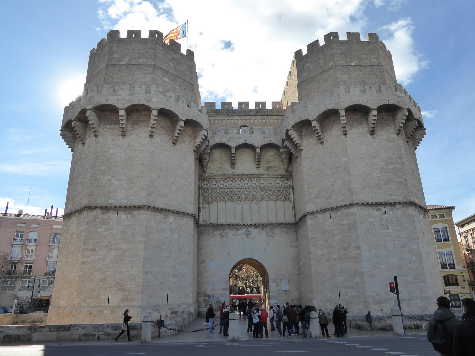 Gothic Architecture Torres De Serrans