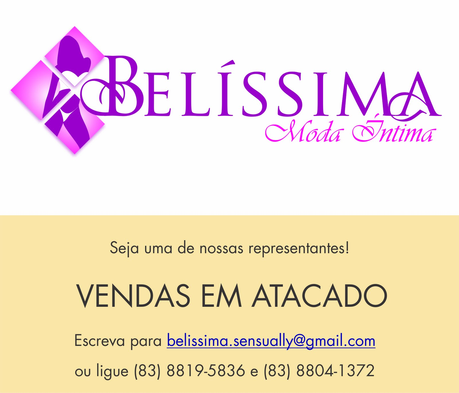 Loja Belíssima Moda Íntima  Trabalhe Conosco 09c1d846436