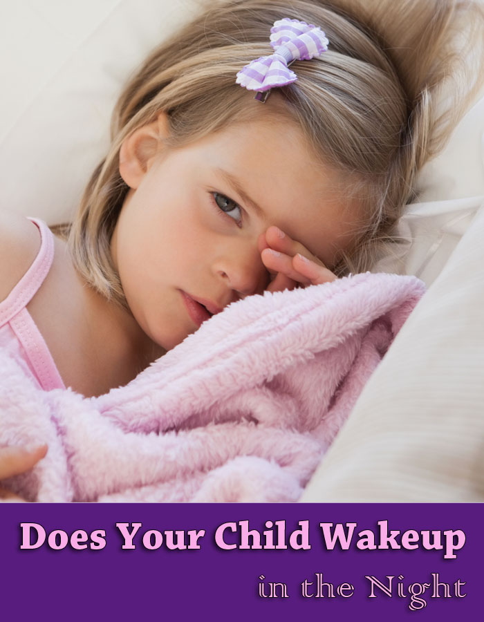 Does Your Child Wake up in the Night