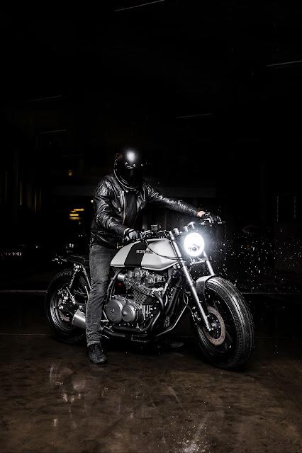 Honda CB900F By Recast Moto Hell Kustom