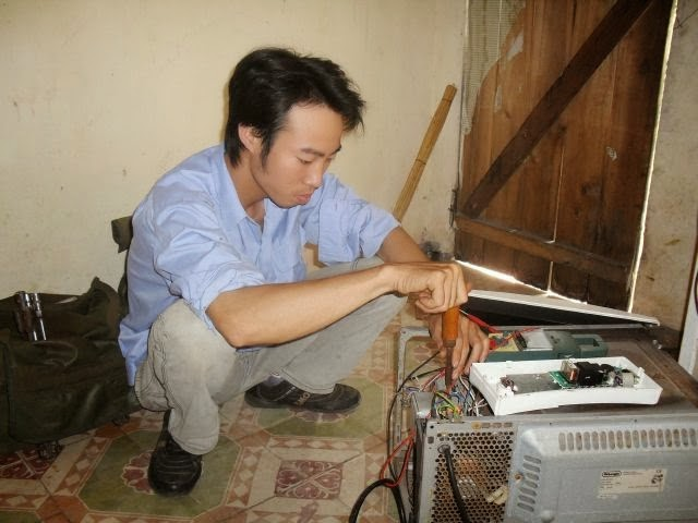 sửa chữa lò vi sóng LG tại Hà Nội