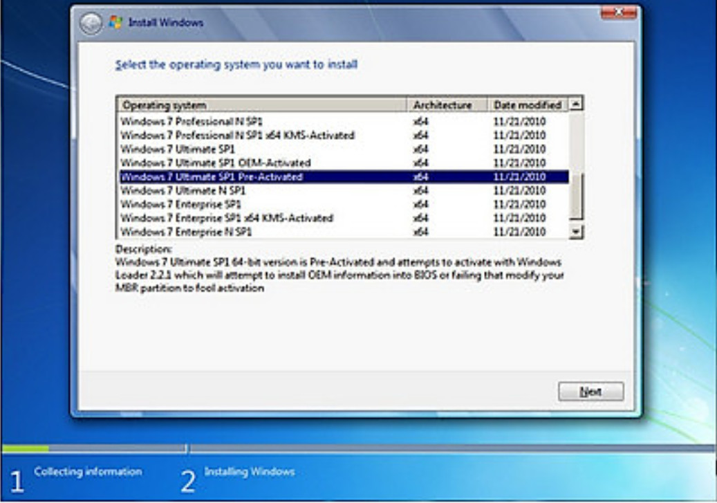 windows 7 activated iso