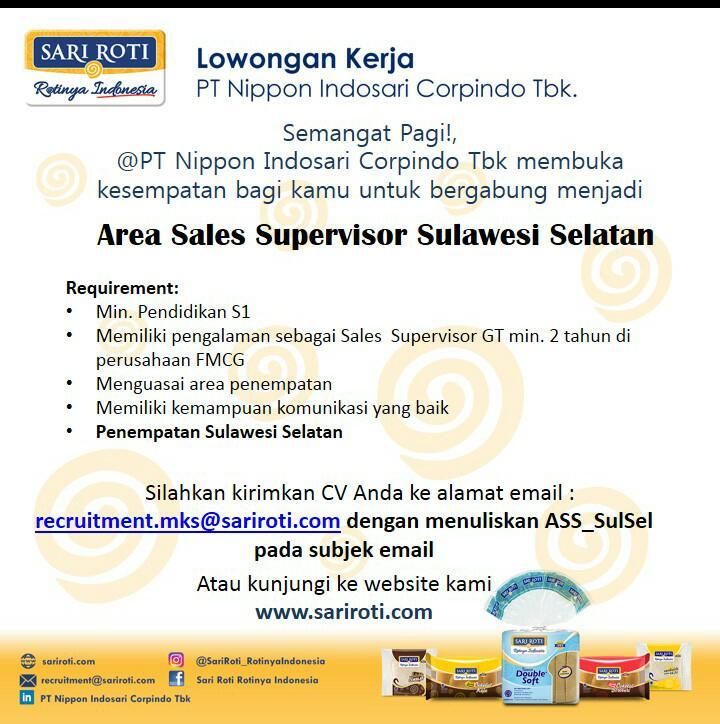 Lowongan Kerja Loker Loker Pt Nippon Indosari Corpindo Tbk