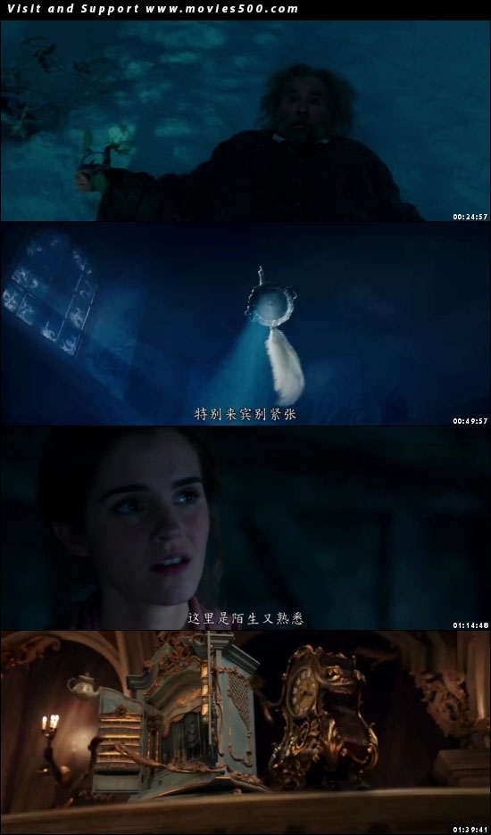 Beauty And The Beast 2017 English Movie HD DVD Download at movies500.com