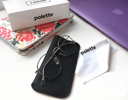 NEW E-POLETTE GLASSES TO PROTECT MY EYES + GIVEAWAY