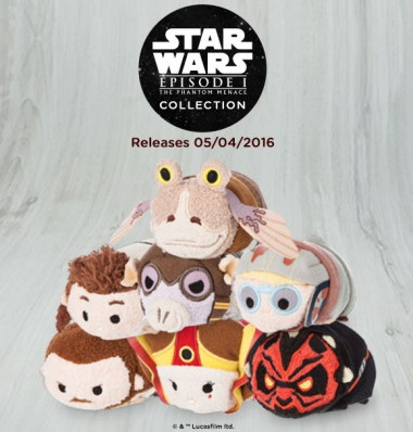 Star Wars Episode I: The Phantom Menace Tsum Tsum Plush Series