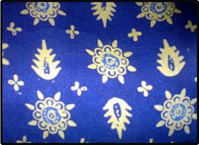 batik tampuk manggis
