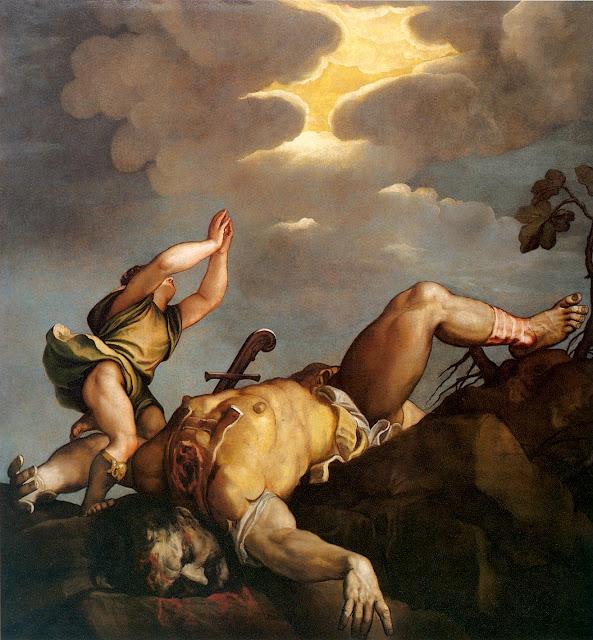 Tiziano Vecellio: Davide e Golia