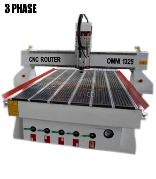 OMNI CNC 1325 3 phase