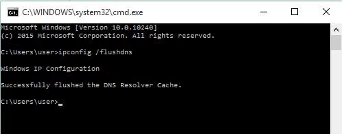 How to correct dns server error
