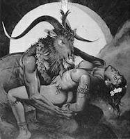 Diablo haciendo el amor