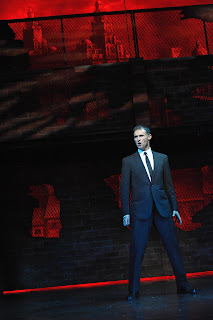 Marti Pellow as the Narrator in the 2012 Touring Production of Blood Brothers