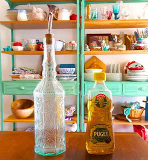 DIY: botella para aceite. www.soyunmix.com