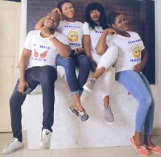 Awwn.. Four Nigerian siblings graduate the same day