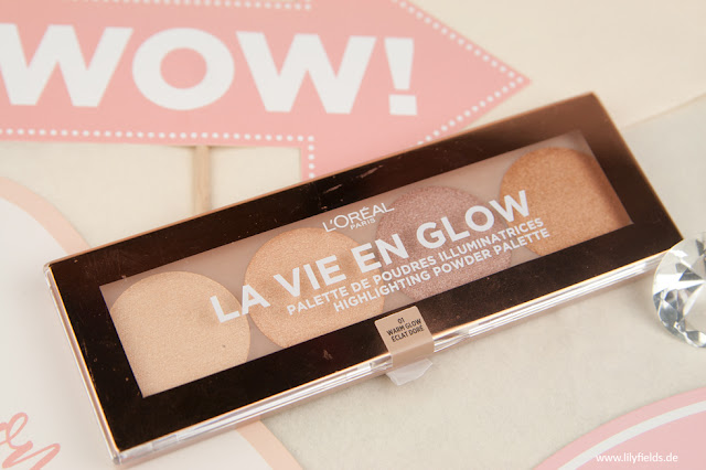 La Vie En Glow - Highlighting Powder Palette - 01 Warm Glow