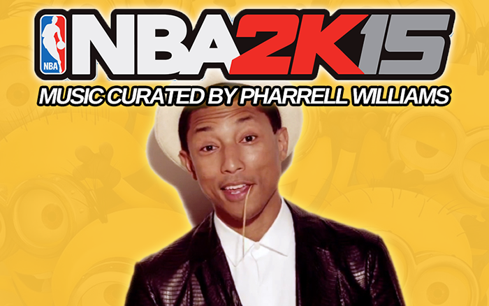 NBA 2K15 Music Curated By Pharrell