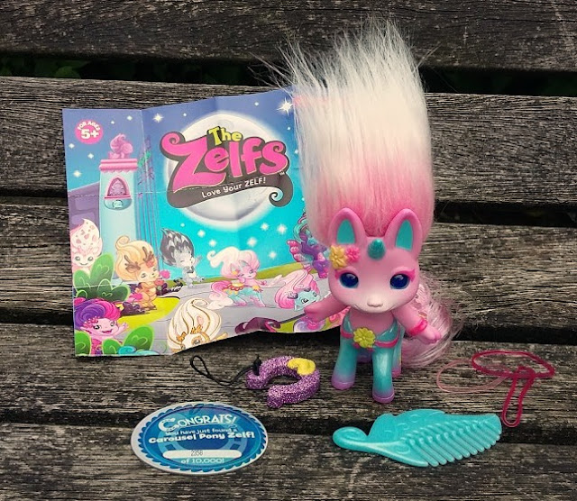 Limited Edition Carousel Pony Zelf Blog Review
