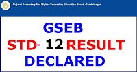 Image result for STD 12 RESULT