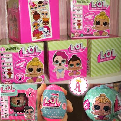 Подделка под маленькую сестричку L.O.L. Surprise fake dolls