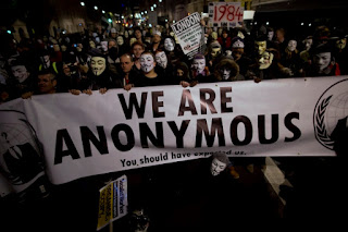 Protesta Anonymous Londres