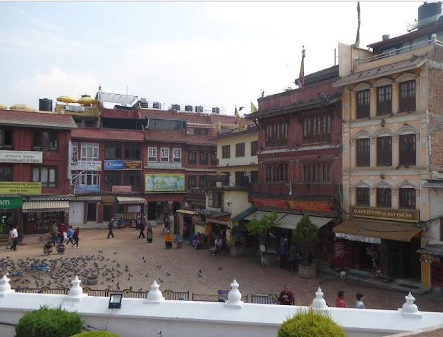 piazza di Boudhanath