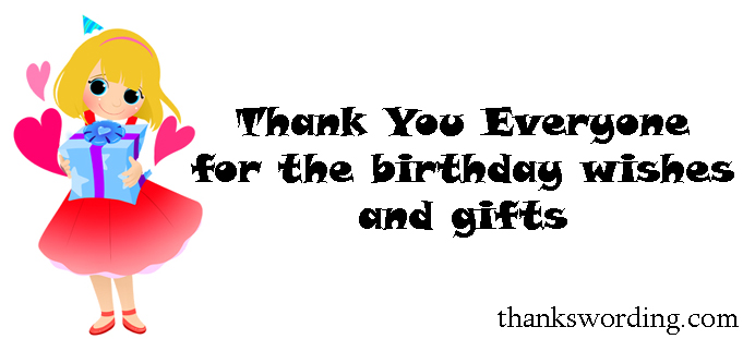 How to Say Thanks for the birthday Wishes – Thanks Birthday Greetings