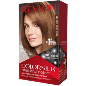 Kem nhuộm tóc 3D Revlon colorsilk mã màu 54 hàng Mỹ xách tay