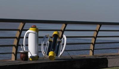 mate solar para calentar el agua