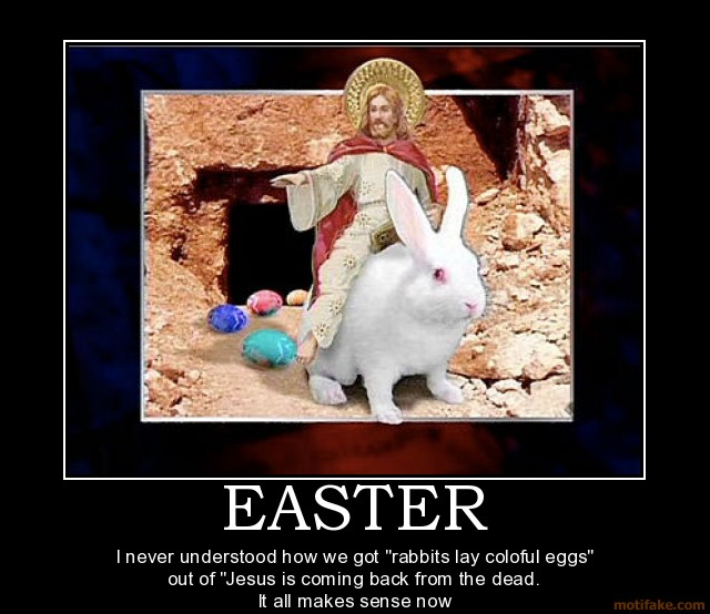 Who Woulda Thought?: Happy Zombie Jesus Day