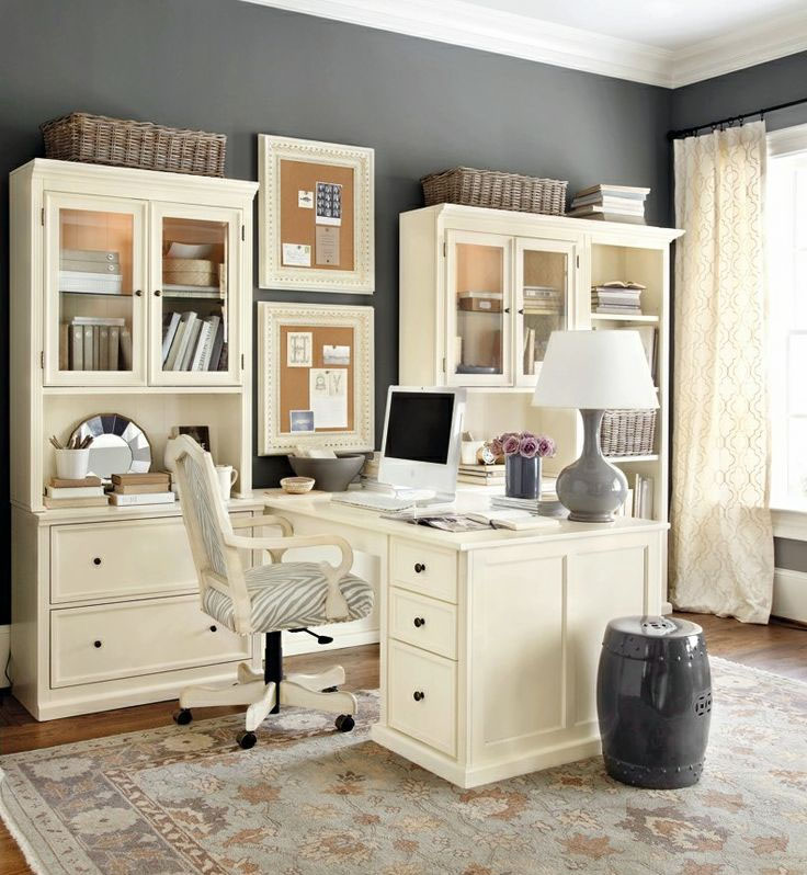 Home Office Design Decorating Ideas: Decorated Mantel: Home Office Ideas For Small Spaces