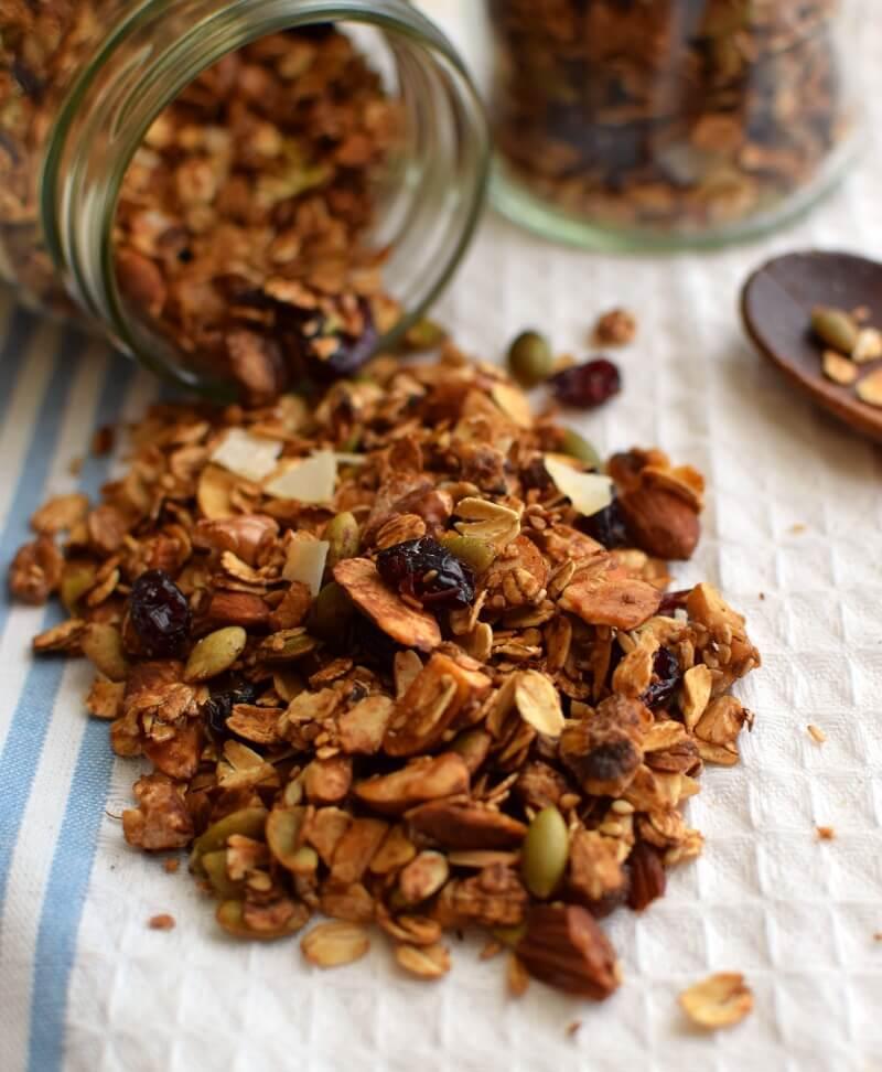 Cómo hacer granola casera. Procedimiento sencillo para obtener un producto nutritivo y saludable