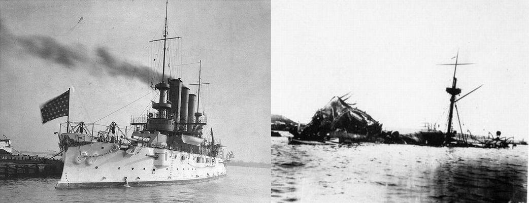 2月15日【メイン号事件】米西戦争の発端
