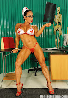 Female Fitness muscular