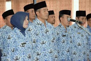 Bupati Bima Lantik Pejabat Lingkup Dikbudpora, Posisi Kabid Dikdas dan Kabid Kebudayaan Diisi