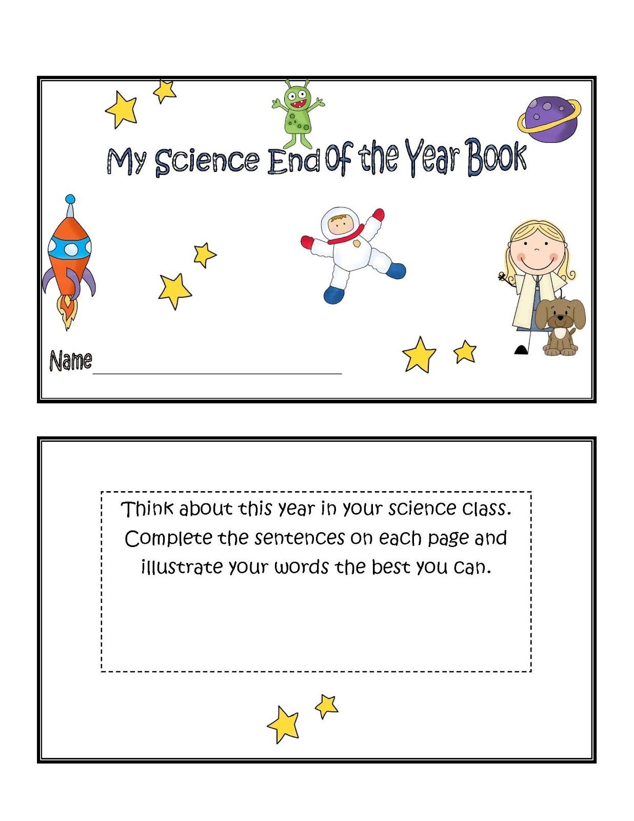 Little Miss Middle School Science End Of The Year Activities