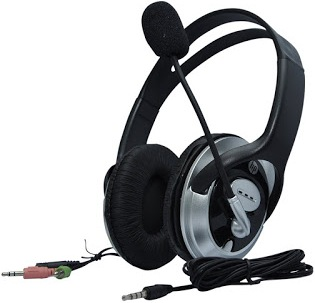 HP B4B09PA Headphones