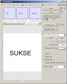 Cara Membuat Animasi Bergerak GIF Dengan Mudah