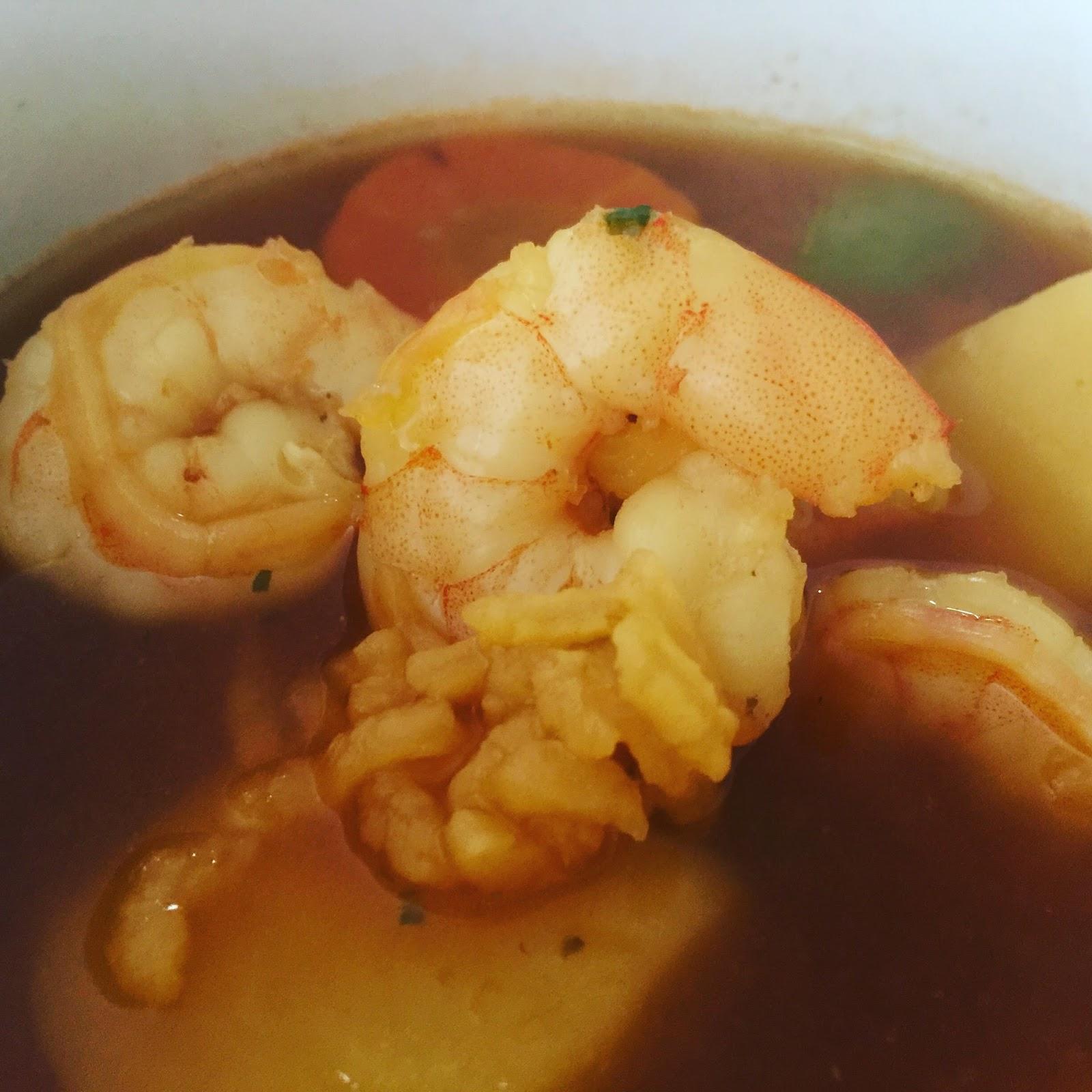 Sopa De Camarones Puerto Rico Wwwmiifotoscom