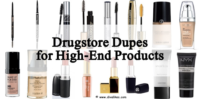 Drugstore Dupes For Your Favorite High-End Beauty Products