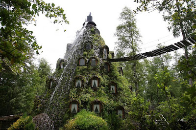 Montaña Magica Hotel, southern Chile.