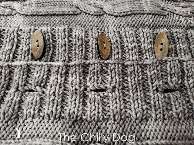 Cardigan Sweater Knitting Tutorial: Learn how to knit a sturdy, one row buttonhole