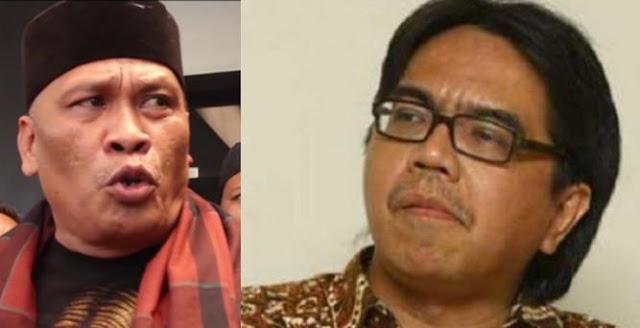 Sebut Azan Tak Suci, Ade Armando Ditantang Debat Jawara Bekasi Damin Sada