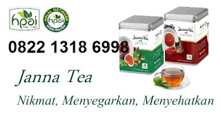 Jual janna tea hpai cool dan hot asli minuman obat herbal stamina