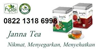 Jual janna tea hpai cool dan hot asli minuman obat herbal stamina
