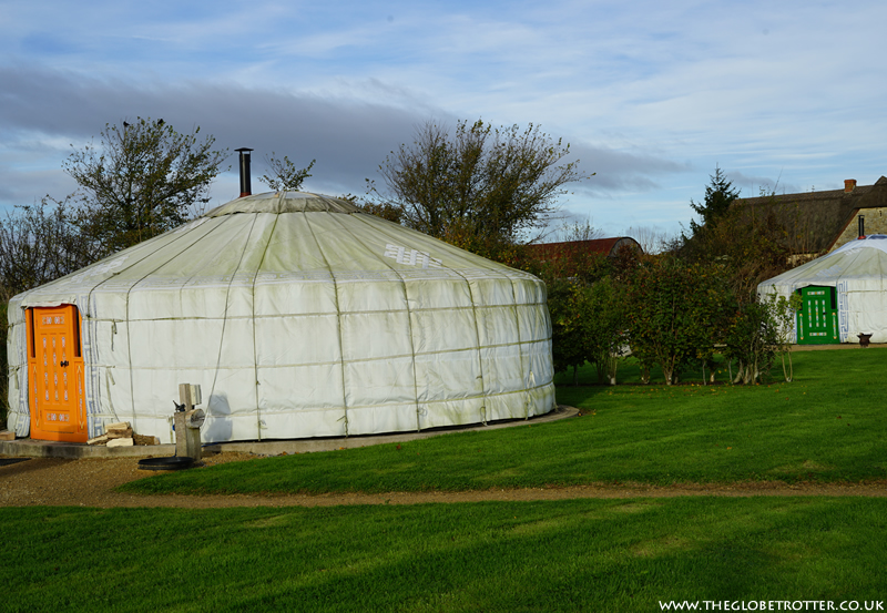 Caalm Camp Yurt Holiday in Dorset