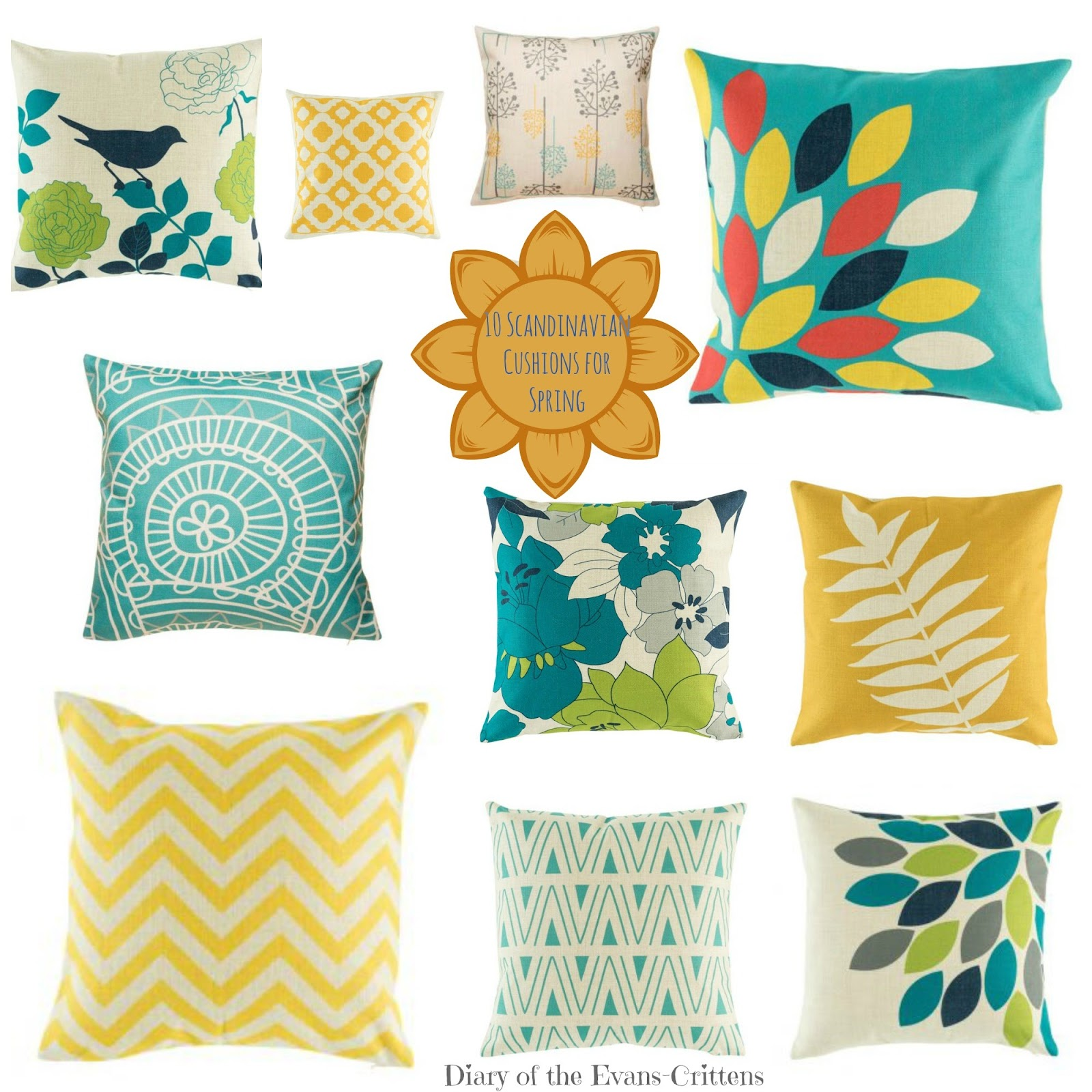 , Home Style:  10 Scandinavian Style Cushions for Spring