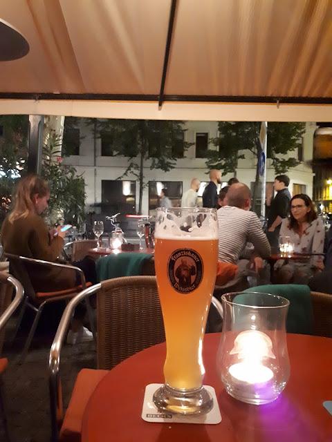 Beers at Karli in Leipzig