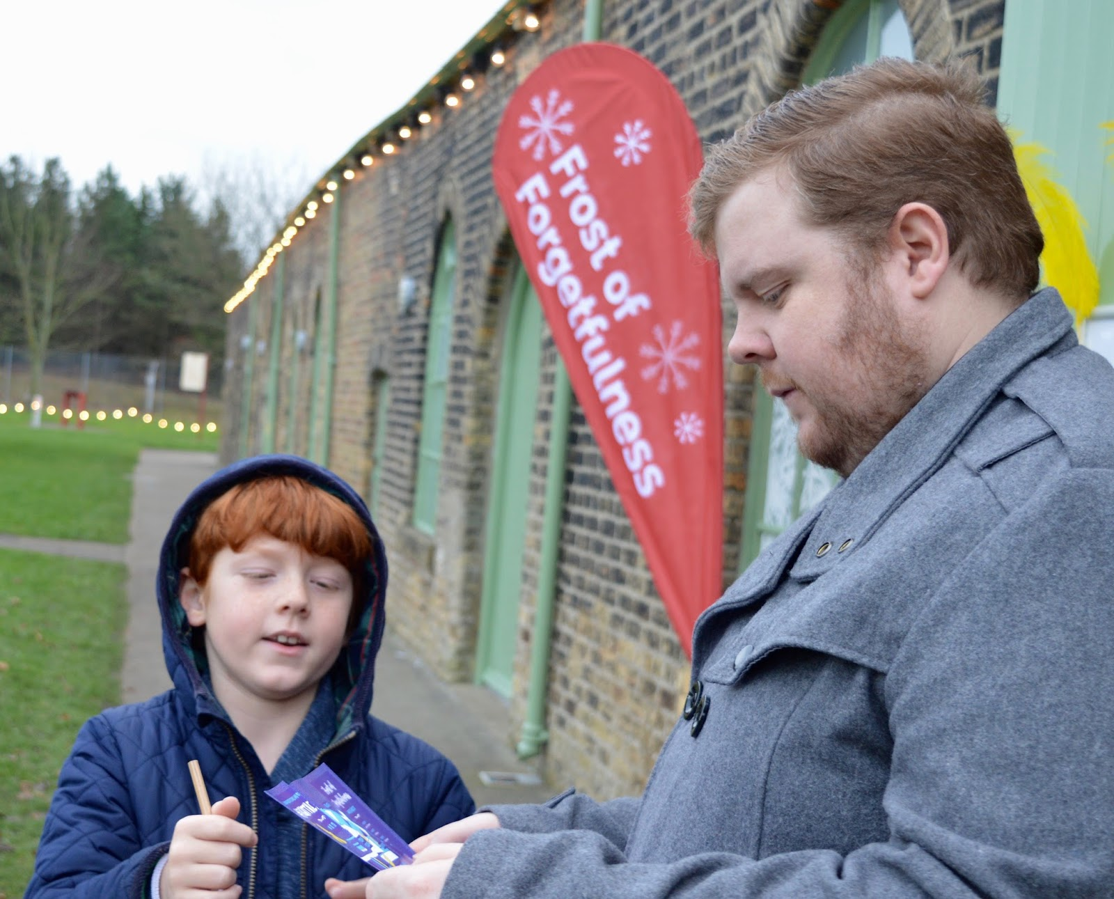 Frost of Forgetfulness | A FREE Winter Trail and activity at Woodhorn Museum in Northumberland (continues until 23rd December) - solving clues